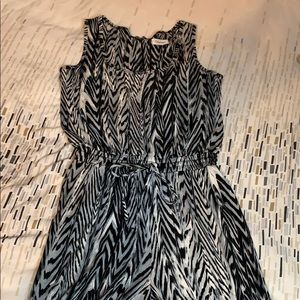 Calvin Klein zebra jumpsuit !